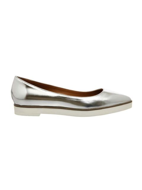 "<p>Silver flats are fast becoming a staple buy, and this chunky-soled pair tops our list.</p>  <p><a href=""http://www.office.co.uk/view/product/office_catalog/2,30/2151492340"" target=""_blank"">Office</a> shoes, £50</p>"