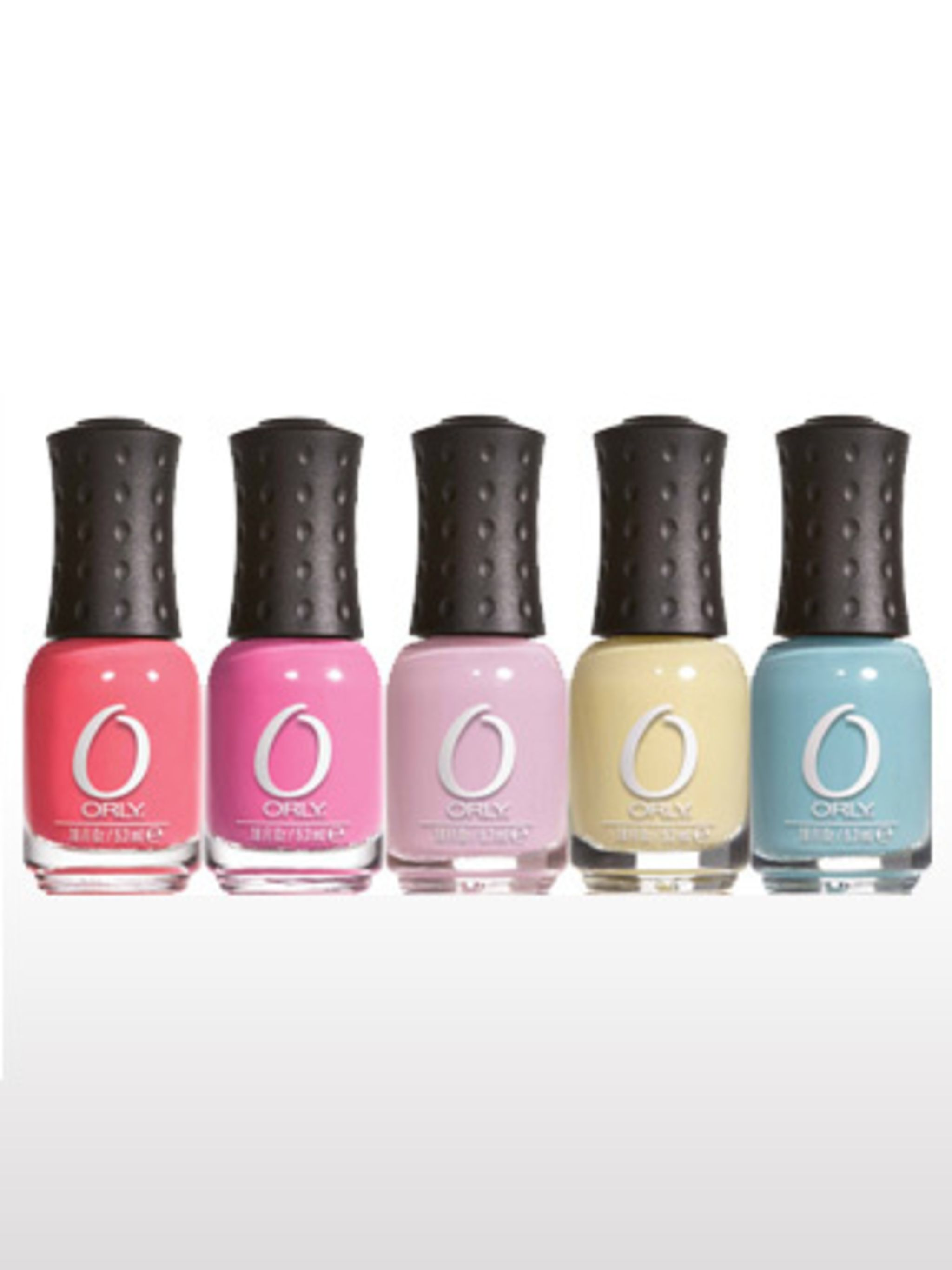 """<p>Orly Nail Polsih, £5 each at <a href=""""http://www.boots.com/en/Orly-Nail-Polish_1162523/"""">Boots</a></p>"""