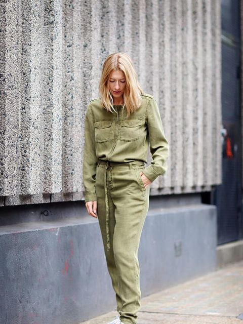 Harriet Stewart, Market and Retail Editor Close the Loop Boiler suit