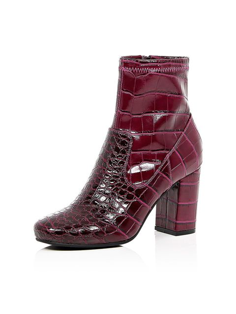 <p>River Island boots, £45 + your RI 25% discount card = £33.75</p>
