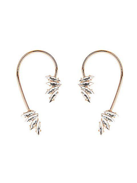 "<p><a href=""http://www.riverisland.com/women/jewellery/earrings/gold-tone-gem-ear-cuffs-672688"" target=""_blank"">River Island gem ear cuffs</a>, £12 + your RI 25% discount card = £9</p>"
