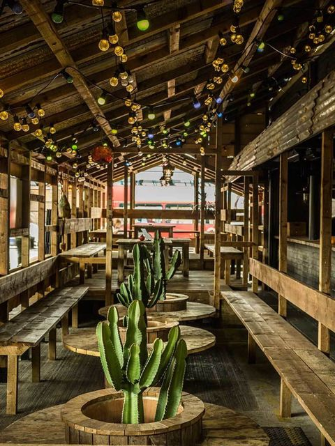 <p>FOOD: Boneyard</p>  <p>And this week's Best Use Of Unlikely Space award goes to… Boneyard, Shoreditch's new US-style diner in a disused petrol station, narrowly beating out a superclub in an old Ikea showroom. OK, we made that second one up, but Boneya