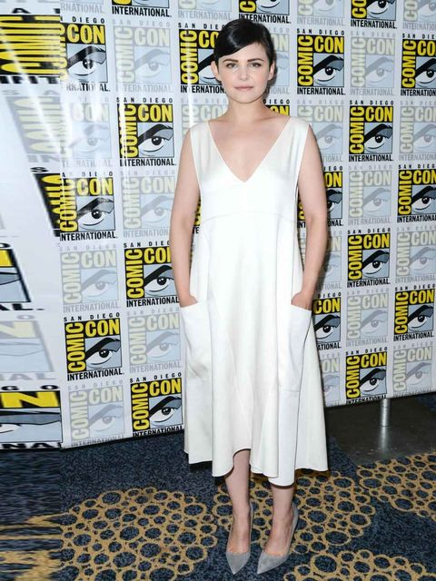 "<p>Ginnifer Goodwin wears a white Derek Lam dress to the <em>Once Upon a Time </em>photocall. </p><p><a href=""http://www.elleuk.com/fashion/trends/top-10-fashion-trends-autumn-winter-2013""></a></p><p><em><a href=""http://www.elleuk.com/catwalk"">The ELLE ca"