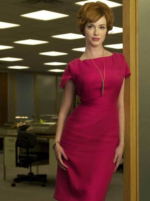 "<p>It's all about the hourglass silouette for <a href=""http://www.elleuk.com/content/search?SearchText=christina+hendricks&amp&#x3B;SearchButton=Search"">Christina Hendricks</a>' charcater Joan Harris in <a href=""http://www.elleuk.com/content/search?SearchText="