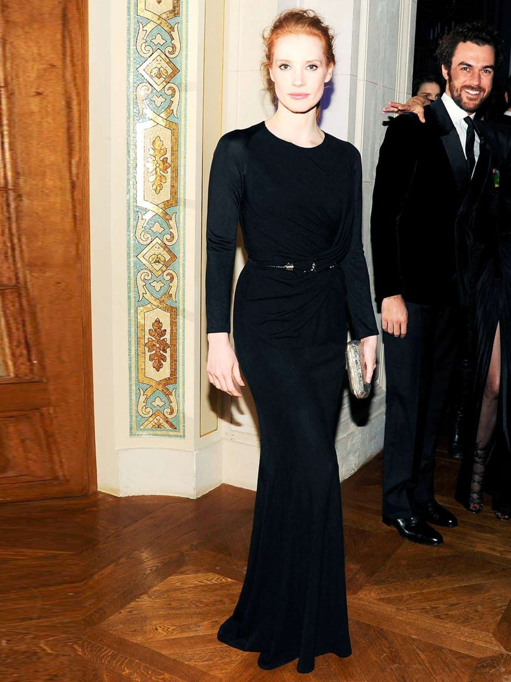 jessica chastain's style file
