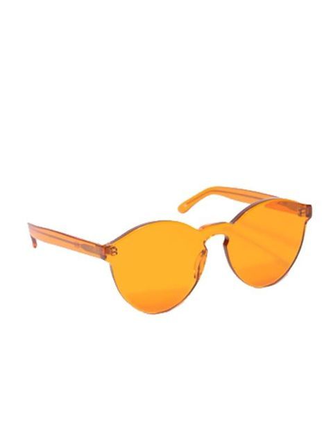 "<p>From a day in the park to partying at summer's festivals, these sunglasses will add a lick of fun, kitsch colour to seasonal activities… Henry Holland x Linda Farrow orange sunglasses, £141, at <a href=""http://www.urbanoutfitters.co.uk/henry-holland-x-"