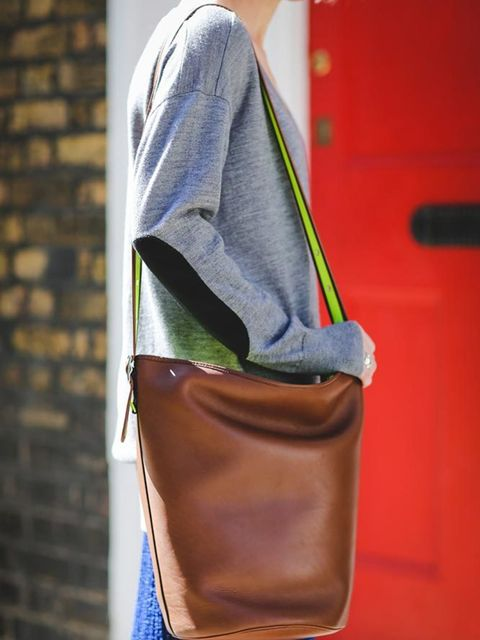 <p>Lorraine Candy, Editor-In-Chief</p><p>MiH sweater, Marks &amp&#x3B; Spencer skirt, Coach bag</p>