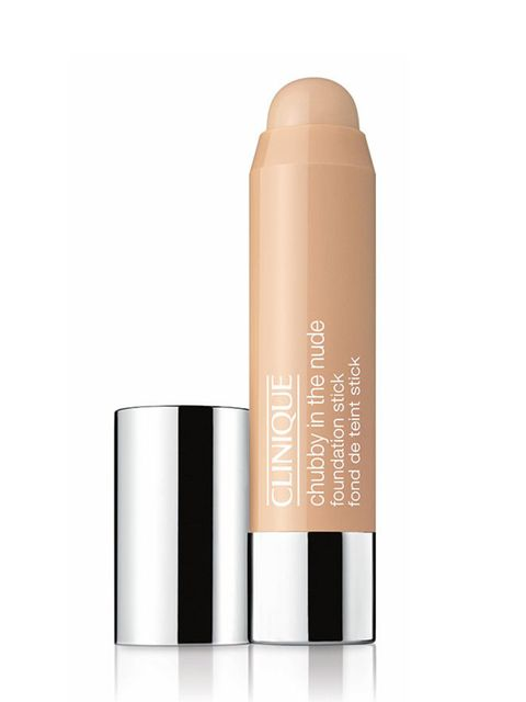 "<p><a href=""http://www.clinique.com/product/1599/39658/Makeup/Foundations/Chubby-in-the-Nude-Foundation-Stick"" target=""_blank"">Clinique Chubby in the Nude Foundation Stick, £23.</a></p>  <p>A lazy girls dream. Scribble all over your face and blend in with"