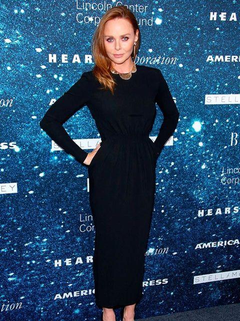 <p>Stella McCartney attends theWomen's Leadership Award celebration in New York, November 2014.</p>