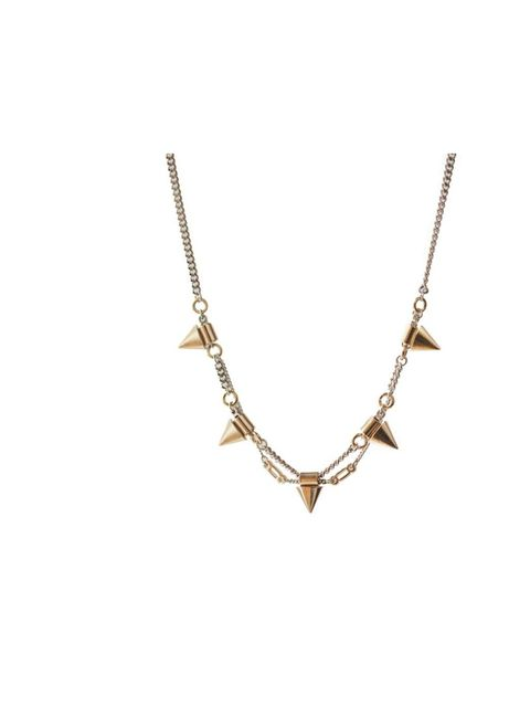 <p>Janine Barraclough necklace, £174, at Darkroom London, for stockists call 0207 831 7244</p>