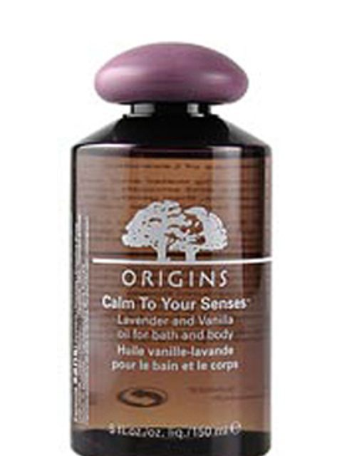 """<p>Mental note for future Monday's - ward off the usual end of weekend anxieties with a soak in Origins Calm to Your Senses Oil for bath and body, £21 (<a href=""""http://www.origins.co.uk/templates/products/sp_nonshaded.tmpl?CATEGORY_ID=CAT4661&amp;PRODUCT_"""