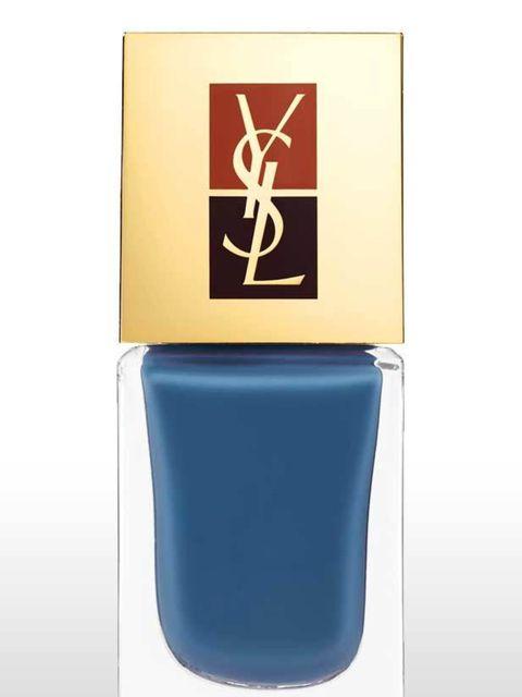 "<p>YSL Manicure Couture No.5 in Facvourite Chich, Denim (also comes with Cappucino), £24.50 at <a href=""http://www.debenhams.com/webapp/wcs/stores/servlet/prod_10001_10001_123066114999_-1?CMP=OTC-GOOGLEPS"">Debenhams</a></p>"