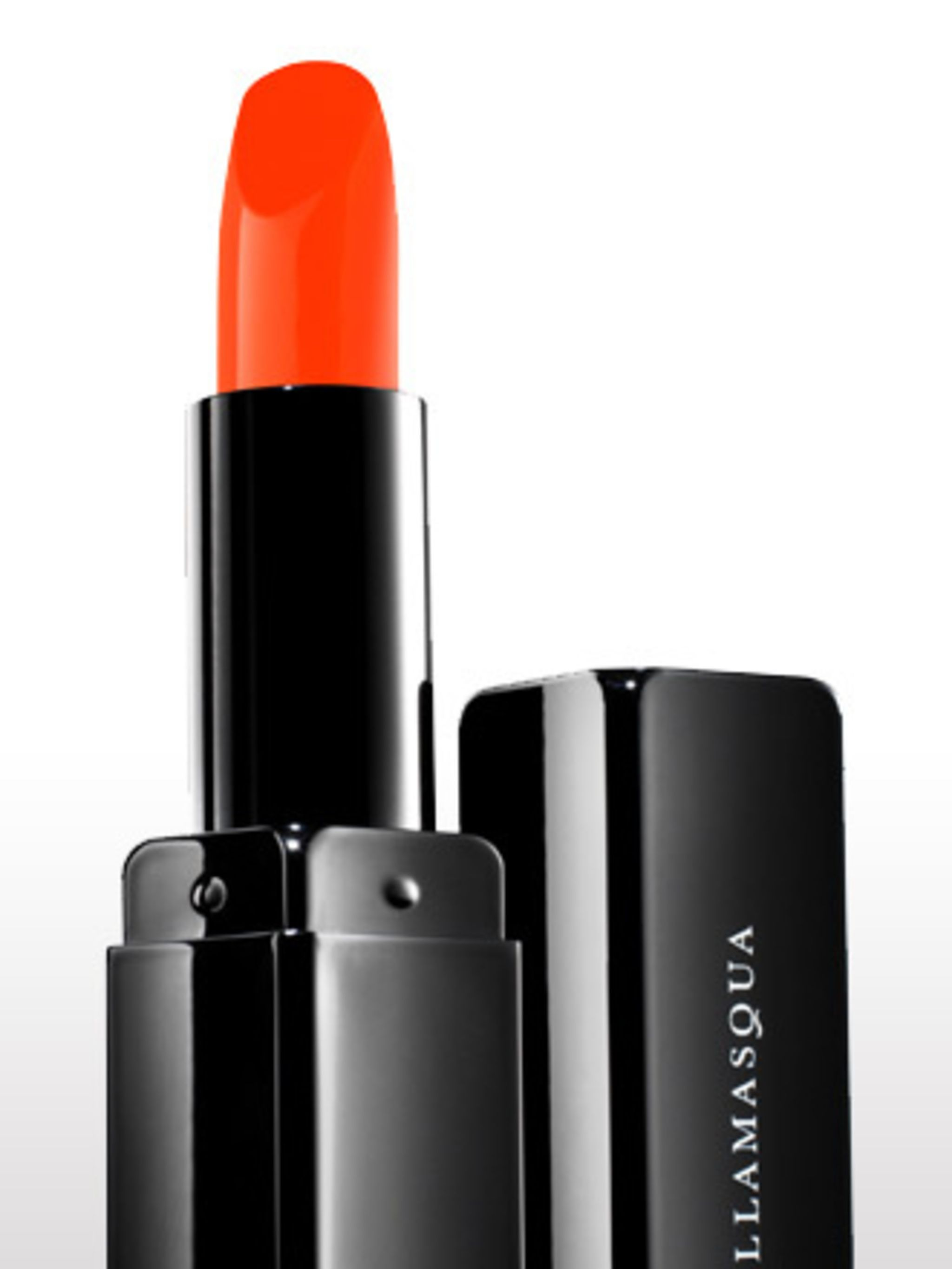 "<p>'This punch of colour is perfect for a bit of a statement, and right on trend this season. The texture is really hydrating and super tidy.' Emma Smith, Beauty Director <a href=""http://www.illamasqua.com/"">Illamasqua</a> Lipstick in Flare, £15.50 </p>"