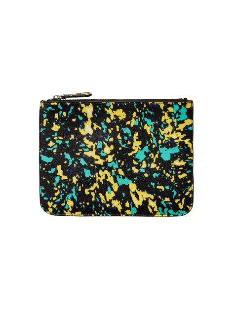 "<p>For all your slippery handbag essentails (yes that's you oyster card/keys/lipbalm).<br />  </p>  <p><a href=""http://www.monki.com/View_all_new/Cajsa_case/8668818-9728059.1#c-126153"" target=""_blank"">Pouch</a>, £6, from Monki</p>"