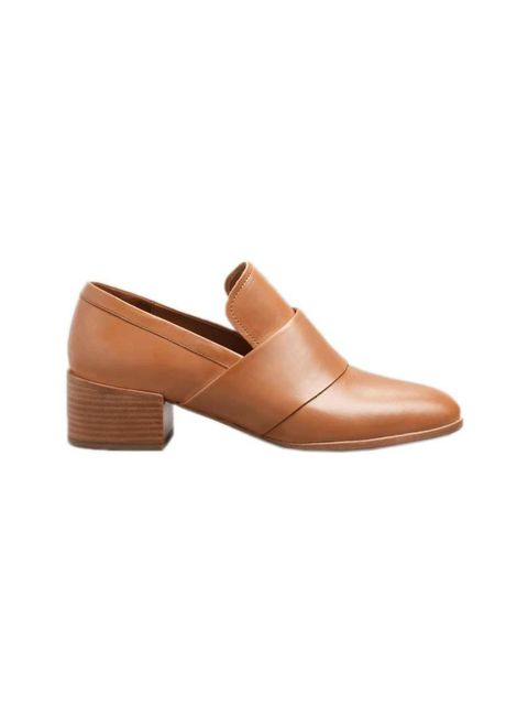 """<p>Fashion Assistant Charlie Gowans-Eglinton will pair these androgynous slip-ons with rolled-up jeans.</p>  <p><a href=""""http://www.stories.com/gb/New_in/All_new_in/Low-Heel_Leather_Loafers/591727-8382681.1"""" target=""""_blank"""">& Other Stories</a> shoes, £95<"""