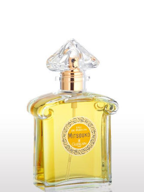 """<p>'I've always wanted to be able to wear this fragrance. It's mysterious, temperamental, but impeccably put together. The kind of woman I one day hope to be, I suppose.' Emma Smith, Beauty Director.</p><p>Guerlain Mitsouko, from £46.50 EDT at <a href=""""ht"""