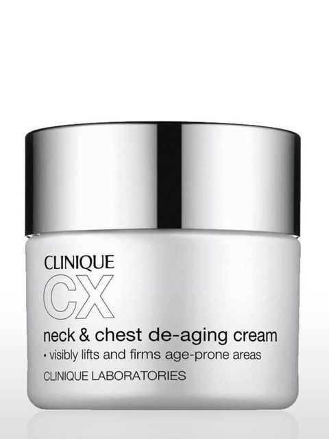 <p><strong>Problem: </strong>Wrinkles</p><p>This rich cream is part of Clinique's hard-hitting CX range. The main ingredient is Whey Protein which stimulates collagen production, leading to firmer skin and fewer wrinkles. You're also betting on the future