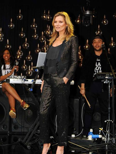 "<p>Kate Moss for Topshop.</p>  <p><a href=""http://www.elleuk.com/fashion/what-to-wear/elle-wears-kate-moss-for-topshop"">See the ELLE team wearing Kate Moss for Topshop</a>.</p>"