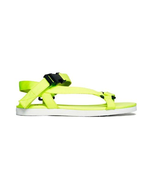 """<p>Channel your inner surfer girl  with these.. </p><p>Sandals £22 by <a href=""""http://www.asos.com/ASOS/ASOS-FULL-MOON-Flat-Sandals/Prod/pgeproduct.aspx?iid=3584300&cid=17170&sh=0&pge=0&pgesize=204&sort=-1&clr=Yellow"""">Asos</a></p>"""