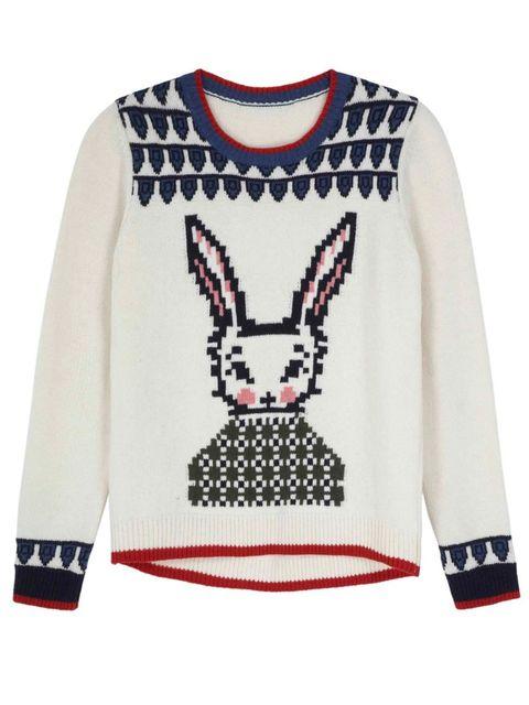 <p>Topshop Wool School jumper, £48</p>