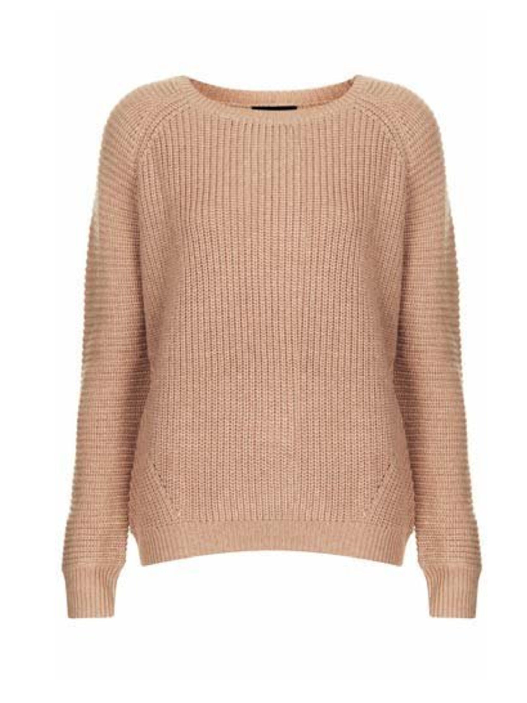 "<p>Rib knitted jumper, £38 from <a href=""http://www.topshop.com/webapp/wcs/stores/servlet/ProductDisplay?searchTerm=jumper&storeId=12556&productId=14105993&urlRequestType=Base&categoryId=&langId=-1&productIdentifier=product&cat"