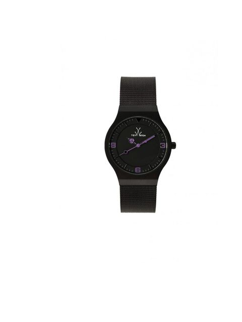 "<p><a href=""http://www.toy-watch.com/gb_en/shop/mesh-only-time-black-dial-130.html"">ToyWatch</a> 'Mesh' black dial, £140</p>"