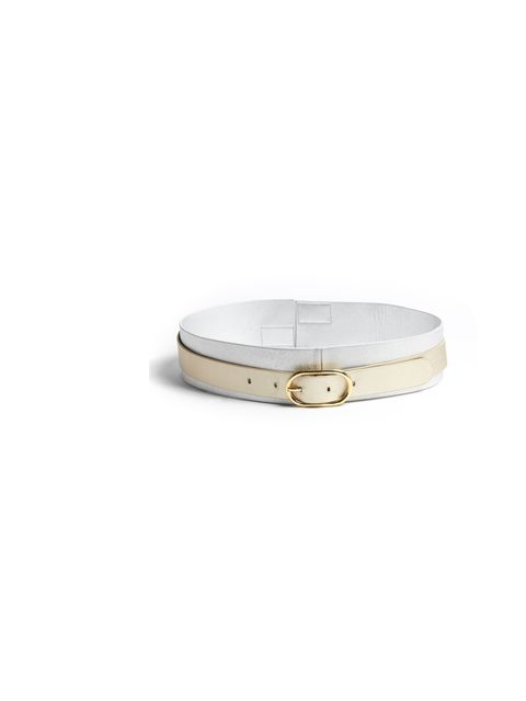 "<p>Chic French label Raoul has just landed at My-Wardrobe, which is a very good place to scour the new season pieces... Raoul metallic leather belt, £104, at My-Wardrobe</p><p><a href=""http://shopping.elleuk.com/browse?fts=raoul+belt"">BUY NOW</a></p>"