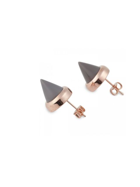 "<p>Sharpen up your new season wardrobe in an instant with these super cool spike studs… Eddie Borgo stud earrings, £120, at <a href=""http://www.harveynichols.com/womens/categories-1/jewellery/earrings/s417228-cone-stud-earrings.html?colour=GREY+AND+OTHER"""