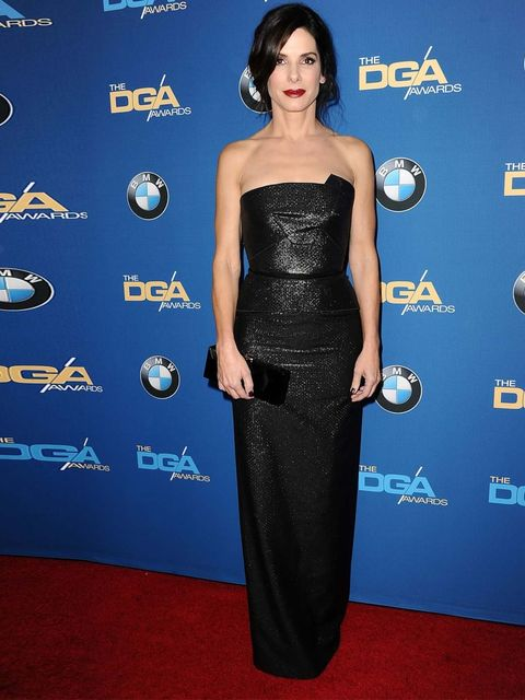 <p>Stunning in Roland Mouret at 66th Annual Directors Guild of America Awards</p>