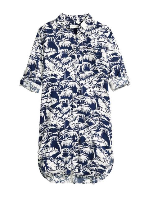 """<p>This simple shirt-dress also doubles as the perfect beach cover-up.</p><p><a href=""""http://www.hm.com/gb/product/88967?article=88967-C"""" target=""""_blank"""">H&M</a> shirt-dress, £24.99</p><p><a href=""""http://www.elleuk.com/promotion/twenty-percent-discoun"""