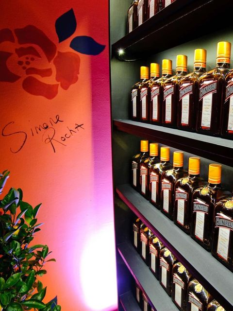 <p>The menu features a choice of 12 Cointreau cocktails.</p>