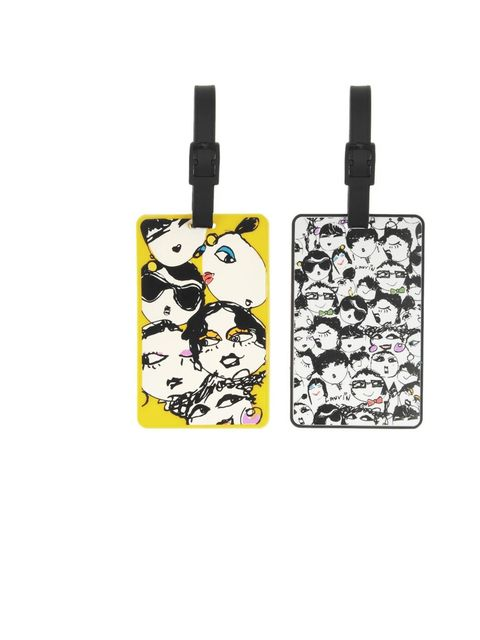 "<p>It's nearby impossible to spot your suitcase from all the other hundred lookalikes passing round the conveyor belt. Make sure yours stand out in style with these Lanvin luggage tags.</p><p>Set of two printed luggage tags, £35, by Lanvin, <a href=""http:"