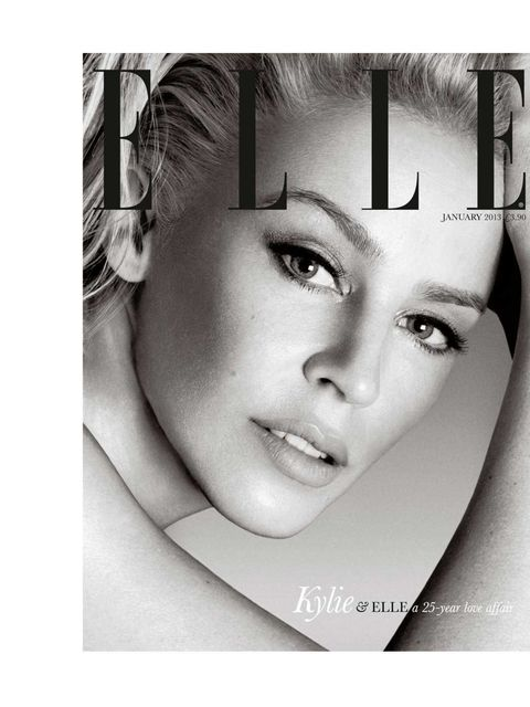 """<p><a href=""""http://www.elleuk.com/star-style/celebrity-style-files/kylie-minogue"""">Kylie Minogue</a> subscriber cover, January 2013. </p>"""
