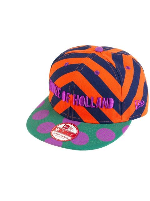 <p>Cap by New Era, £35'This is an introduction to our House of Holland x New Era collaboration. Look out for more come spring.'</p>