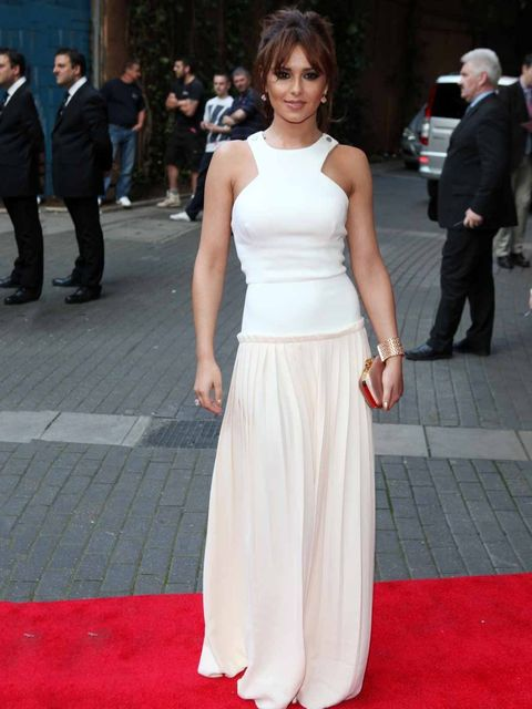<p>Cheryl Cole in Victoria Beckham at the 'What to Expect When You're Expecting' Premiere 22nd May.</p>
