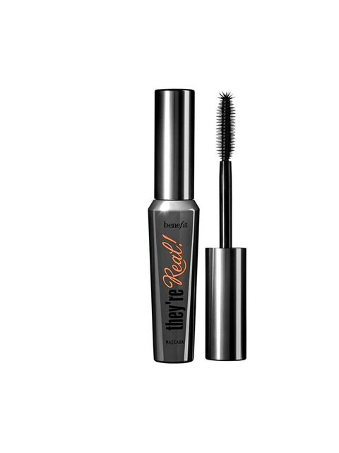"<p><a href=""http://www.benefitcosmetics.co.uk/product/view/theyre-real"">Benefit They're Real! Mascara,</a> £18.50</p><p>An ELLE beauty team favourite. Its thick brush makes for easy application and the end result is long lasting, volumised lashes.</p>"