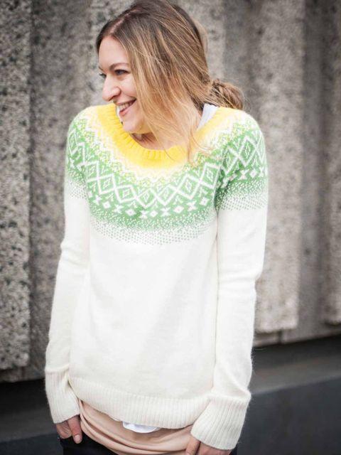 <p>Natasha Pearlman, Deputy Editor:Gap Christmas jumper, Zara jeans</p>