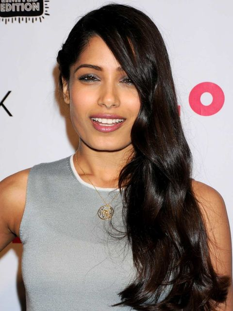 <p>Freida Pinto in Los Angeles</p>