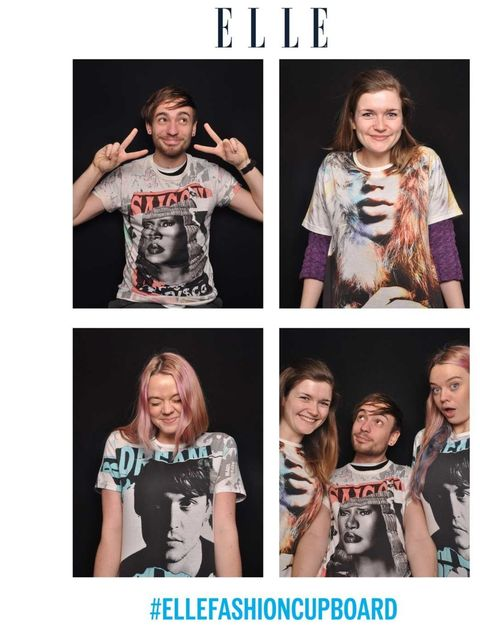 <p>For the first time ever David Bailey has allowed some of his most favourite portraits to be printed onto T-shirts - and team ELLE is pretty impressed with the results. Som much so that we couldn't wait to get into the office photo booth and try them on
