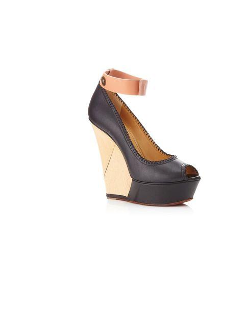 "<p>Lanvin 'Cypher' platform wedge, £750, at <a href=""http://www.harrods.com/product/lanvin/cypher-platform-sandal/000000000002720070?dept=az&amp&#x3B;cat1=b-lanvin&amp&#x3B;cat2=b-lanvin-shoes"">harrods.com</a></p>"