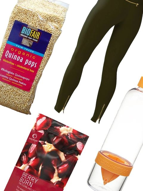 "<p>Seen <a href=""http://www.elleuk.com/magazine"">Fit notes in ELLE magazine</a>? Here's your weekly fix of all things health and fitness. </p><p>This week – luxe leggings you'll want to wear in and out of the gum, plus the tasty alternative to traditional"