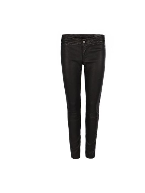 <p>All Saints 'Elben' cropped leather trousers, £395, for stockists call 0844 980 2211</p>