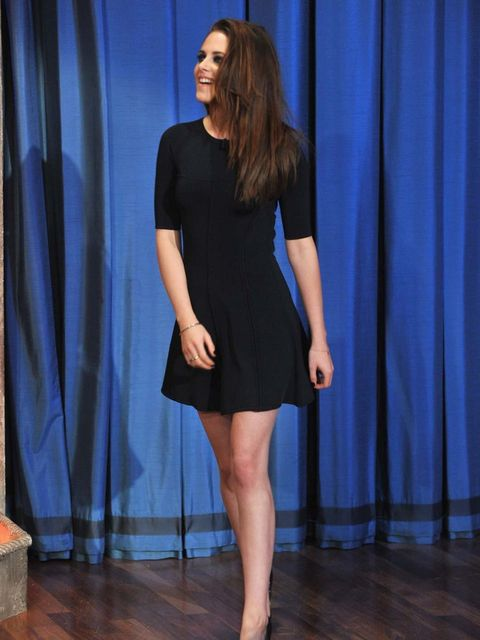 <p>Kristen Stewart wears A.L.C on Late Night With Jimmy Fallon</p>