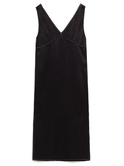 "<p>£25.99, <a href=""http://www.zara.com/uk/en/trf/dresses/topstitched-midi-dress-c358031p3588013.html"" target=""_blank"">Zara</a></p>"