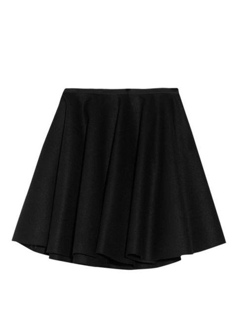 <p>Alexander McQueen mini skirt, £465, at Net-a-Porter</p>