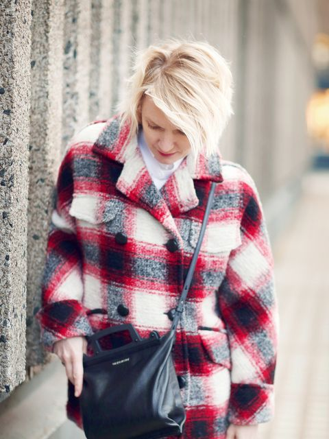 <p>Lorraine Candy - Editor-in-Chief.</p>  <p>Isabel Marant Etoile coat, Carven shirt, Joseph trousers, Jimmy Choo shoes and Givenchy bag.</p>