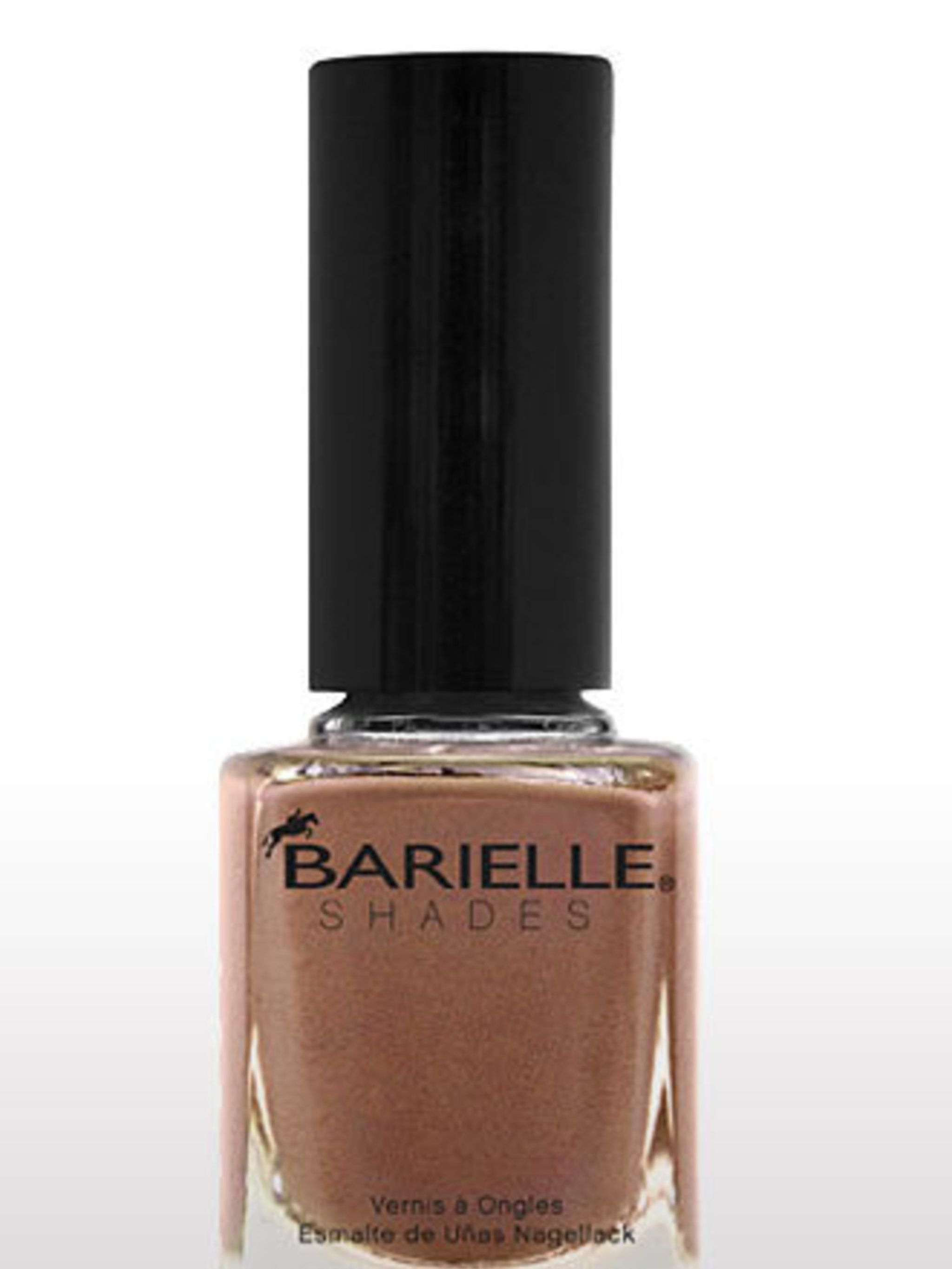 "<p><a href=""http://www.barielle.co.uk/product_p/5097.htm"">Barielle Shades</a> nail polish in Cashmere or Loose Me, £8</p>"
