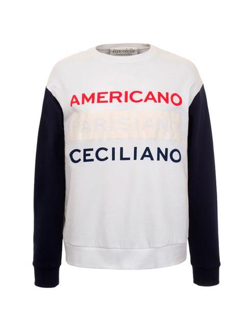 "<p><a href=""http://www.etrececile.com/apc-puff-boyfriend-sweatshirt.html"" target=""_blank"">Etre Cecile sweatshirt,</a> £110</p>"