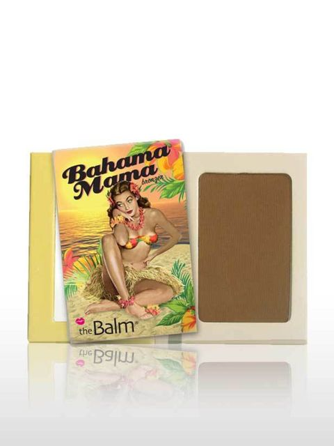 <p>This is a great, dark matte shade so apply it lightly with a brush and layer gradually. Not ideal for pale skin tones, it is more suited to sun worshippers. This has a true brown hue so will suit most skin types.</p><p>Bahama Mama, £15 by The Balm at <
