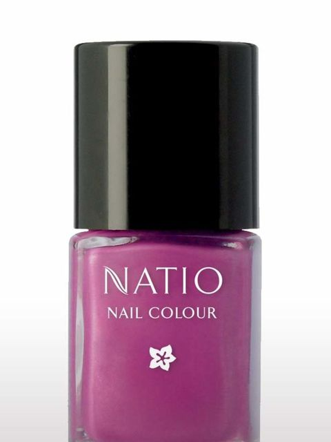 <p>Nail polish in Adore, £7.50 by Natio</p>